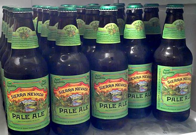 Sierra Nevada beer bottles