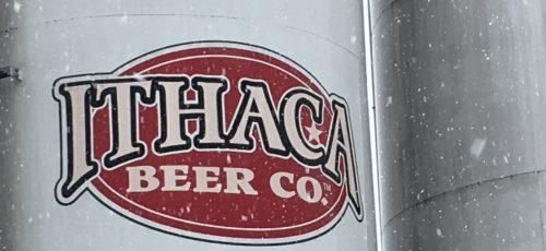 Ithaca Beer Co. grain silos.